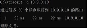 P2P VPN/Mesh VPN建立后的traceoute信息